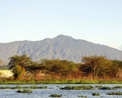 Lake Naivasha and Mount Longonot