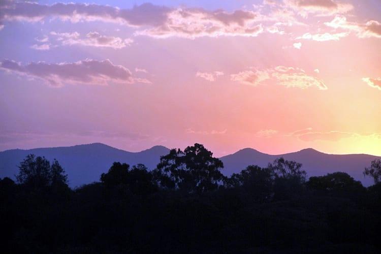 Ngong Hills at Dusk - Karen