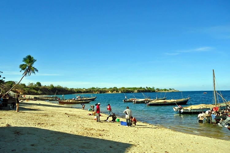 Mikindani Harbour and Beach