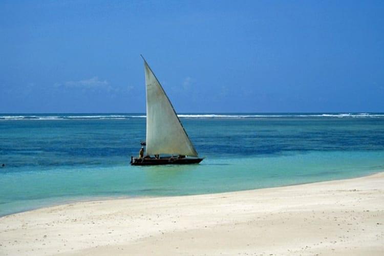 Galu Beach dhow