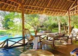 Kinondo Kwetu Cottage Veranda